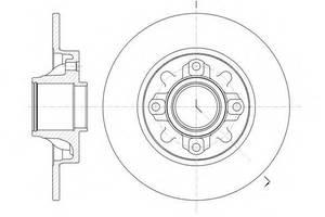 Тормозные диски Peugeot
