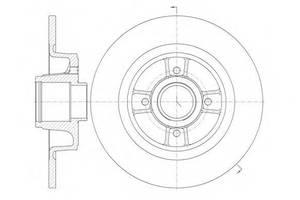 Тормозной диск Renault Megane