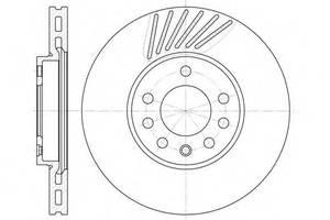Тормозной диск Saab