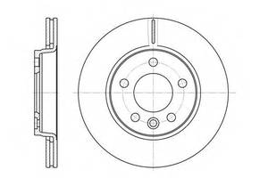 Тормозной диск Volkswagen