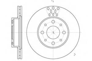 Тормозной диск Fiat Siena