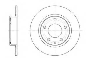 Тормозной диск Mazda Premacy