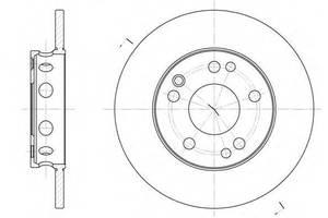 Тормозной диск Mercedes 190