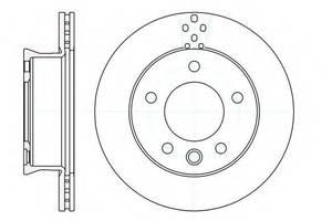 Тормозной диск Mercedes Sprinter