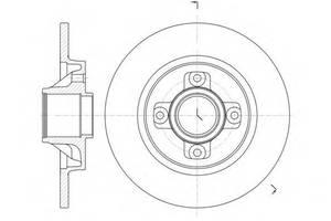 Тормозные диски Peugeot 3008