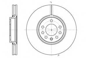 Тормозной диск Saab 9-3