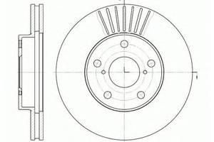 Тормозной диск Toyota Rav 4