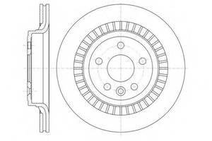 Тормозной диск Volvo XC60