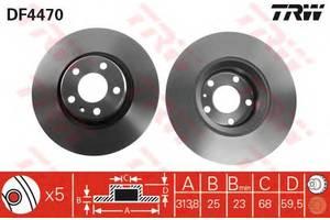 Тормозной диск Audi A6