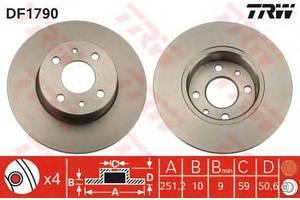 Тормозной диск Fiat Stilo