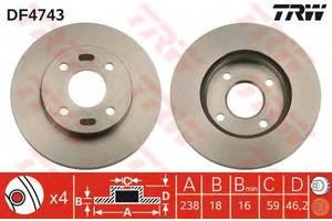 Тормозной диск Nissan Micra