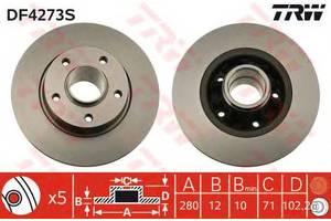 Гальмівні диски Opel Vivaro