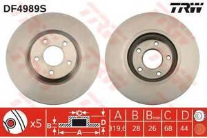 Тормозные диски Renault Koleos