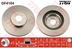 Тормозной диск Subaru Forester
