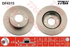 Тормозной диск Suzuki Alto