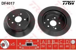Гальмівні диски Toyota Previa