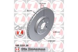 Тормозной диск Audi A5