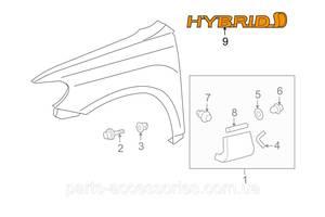 Новые Крылья передние Toyota Highlander