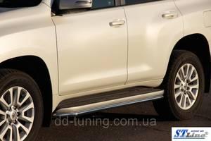 Обвес бампера Toyota Prado 150