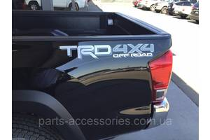 Новые Эмблемы Toyota Tacoma