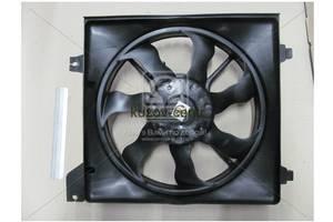 Новые Вентиляторы осн радиатора Hyundai Accent