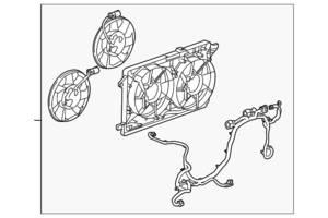 Новые Вентиляторы осн радиатора Chevrolet Volt