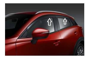 Новые Дефлекторы Mazda CX-3
