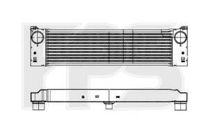 Радиаторы интеркуллера Mercedes Vito груз.