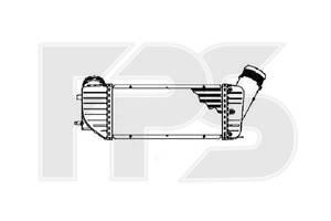 Радиатор интеркуллера Peugeot 307