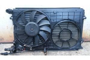 б/у Вентиляторы осн радиатора Skoda Octavia A5
