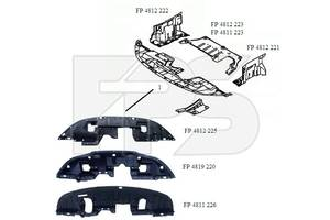 Защита двигателя и коробки передач Mitsubishi ASX