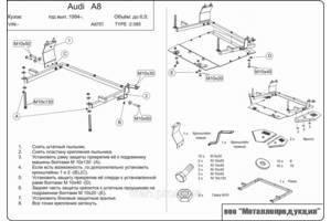 Защита под двигатель Audi A4