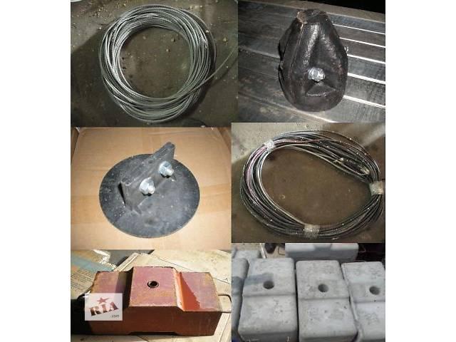 купить бу Запчасти и комплектующие для строительной люльки ZLP – 630. (Трос, противовес) в Хмельницком
