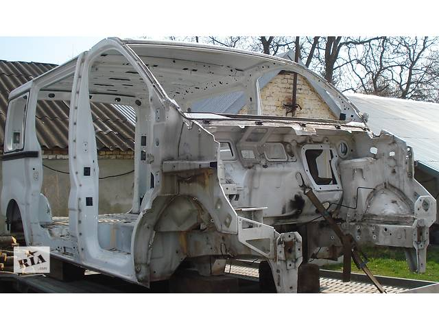 бу Запчастини Кузов, кузов коротка\довга база, частина кузова 1.9, 2.0, 2.5dci Детали кузова Кузов Nissan Primastar в Бориславе