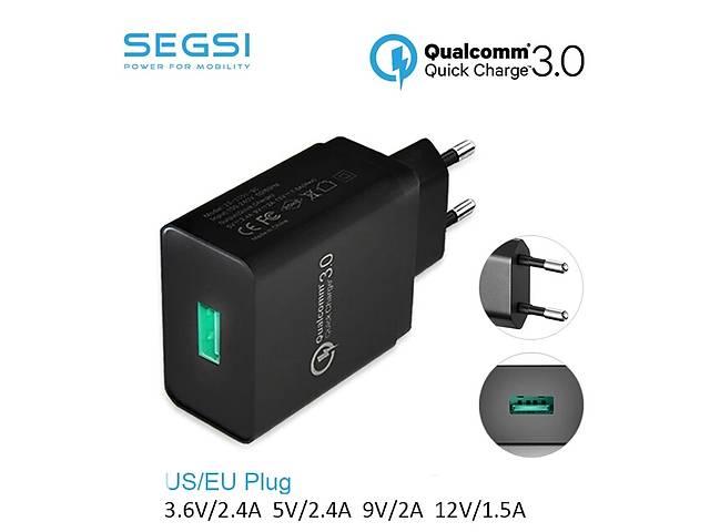 Зарядное устройство для мобильного, планшета Quick Charge 3.0 Qualcomm. Segsi BW-S5- объявление о продаже  в Одессе