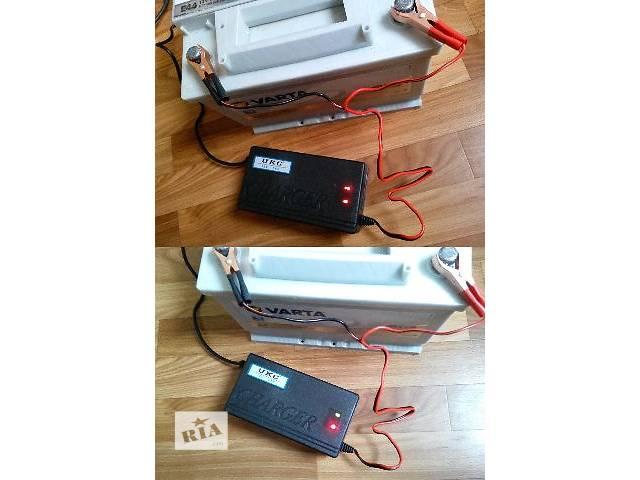 купить бу Зарядное устройство автомат 12В 5А (для свинцово-кислотных аккумуляторов 20-80 А*час) в Харькове