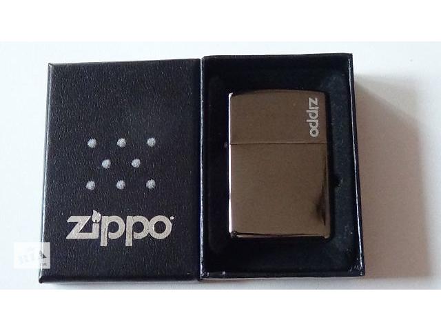 купить бу Зажигалка Zippo( blek diamond) в подарочной упаковке в Мелитополе