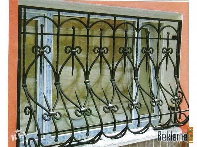 купить бу решетки кованые объемные на окна в Одессе