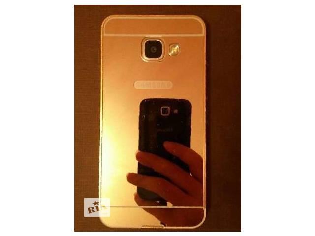 Зеркальный чехол на Samsung Galaxy S7 Edge- объявление о продаже  в Киеве
