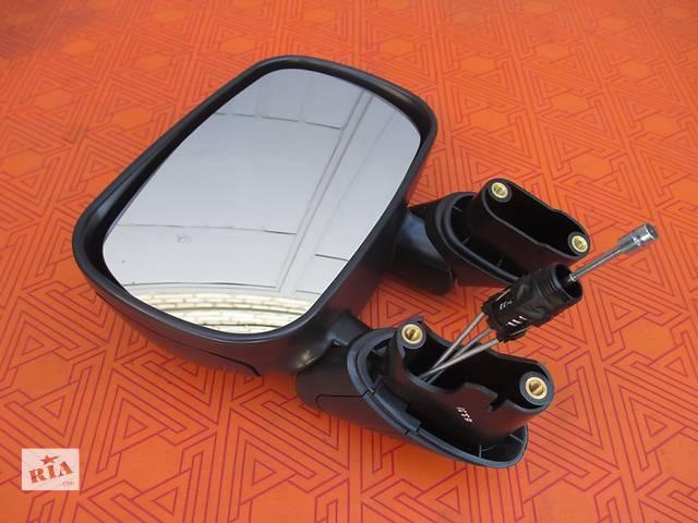бу Зеркало боковое заднего вида на Fiat Doblo (Фиат Добло) 2001-2010 г.в. левое в Ковеле