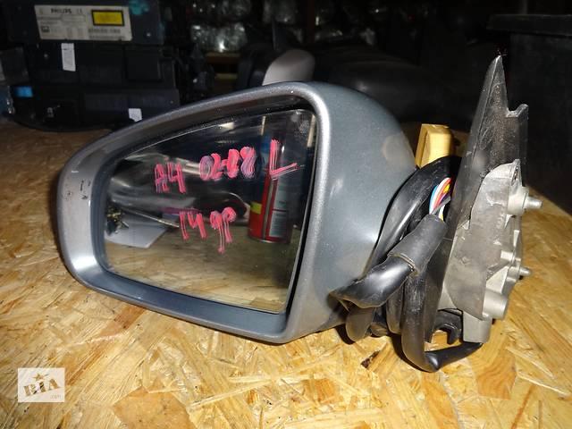 купить бу зеркало для Audi A4 B6 B7 2001-08 14pin в Львове