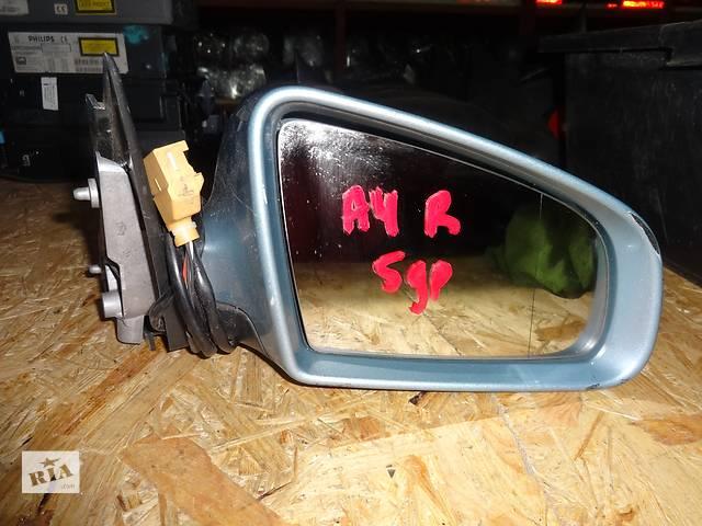 купить бу зеркало для Audi A4 B6 B7 2001-08 5pin в Львове