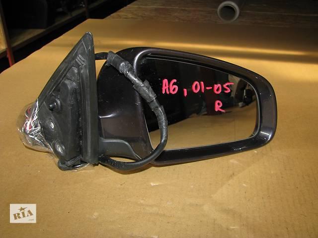 купить бу зеркало для Audi A6 C6 2005-09 7pin в Львове