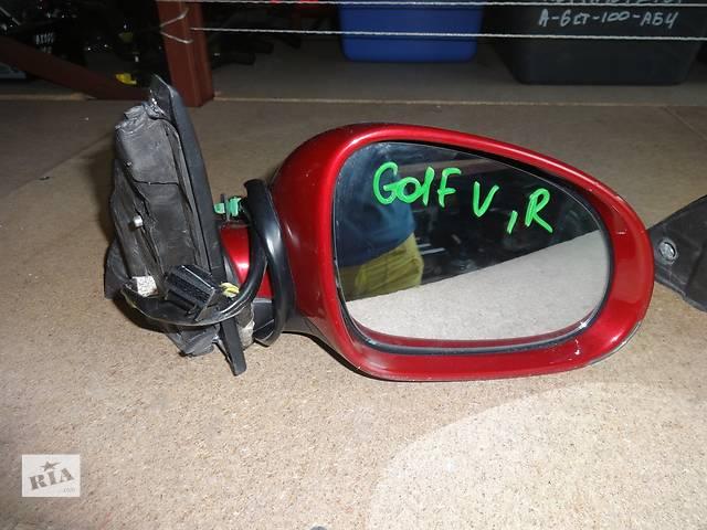 бу зеркало для универсала Volkswagen Golf V, Jetta 2007-10, 10pin в Львове
