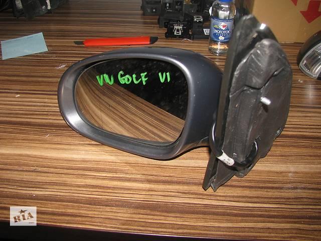 купить бу зеркало для универсала Volkswagen Golf VI 2009-12 7pin в Львове