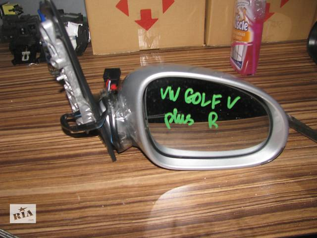 купить бу зеркало для Volkswagen Golf Plus 2005-09 6pin в Львове