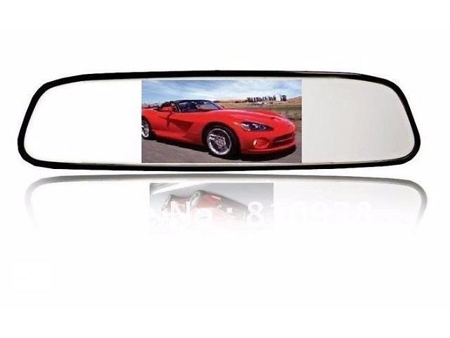 продам Зеркало Монитор заднего вида автомобиля 4,3 дюйма экран бу в Харькове
