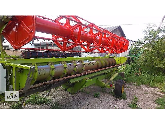 бу зерновая жатка  CLAAS vario 7,5 м. + рапсовый стол в Тернополе