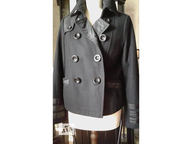 купить бу Куртка женская Жакет шерстяной комбинированный  р 46-46 в Запорожье
