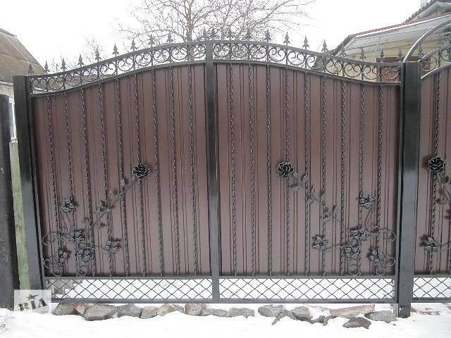 купить бу Железные ворота, гаражные и дворовые в Чернигове
